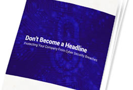 Don't become a headline